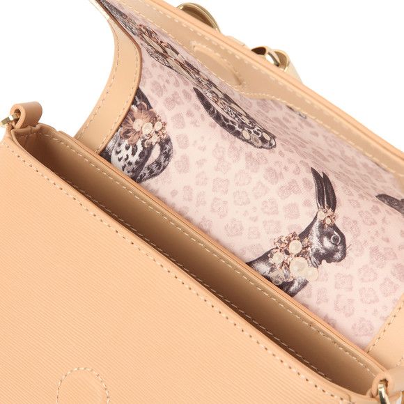Ted Baker Womens Beige Tessi Curved Bow Xbody Bag main image