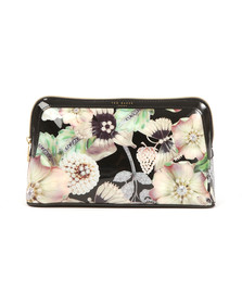 Ted Baker Womens Black Jooplin Gem Garden Wash Bag