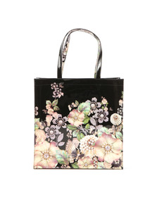Ted Baker Womens Black Garcon Gem Garden Large Icon Bag