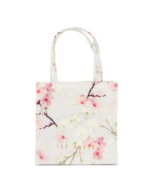 Ted Baker Womens Grey Sericon Oriental Blossom Small Icon Bag
