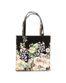 Ted Baker Womens Black Chycon Gem Garden Small Icon Bag
