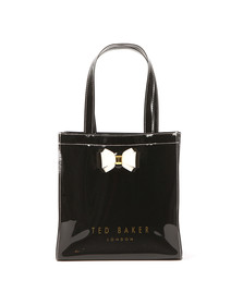 Ted Baker Womens Black Aracon Plain Bow Small Icon Bag