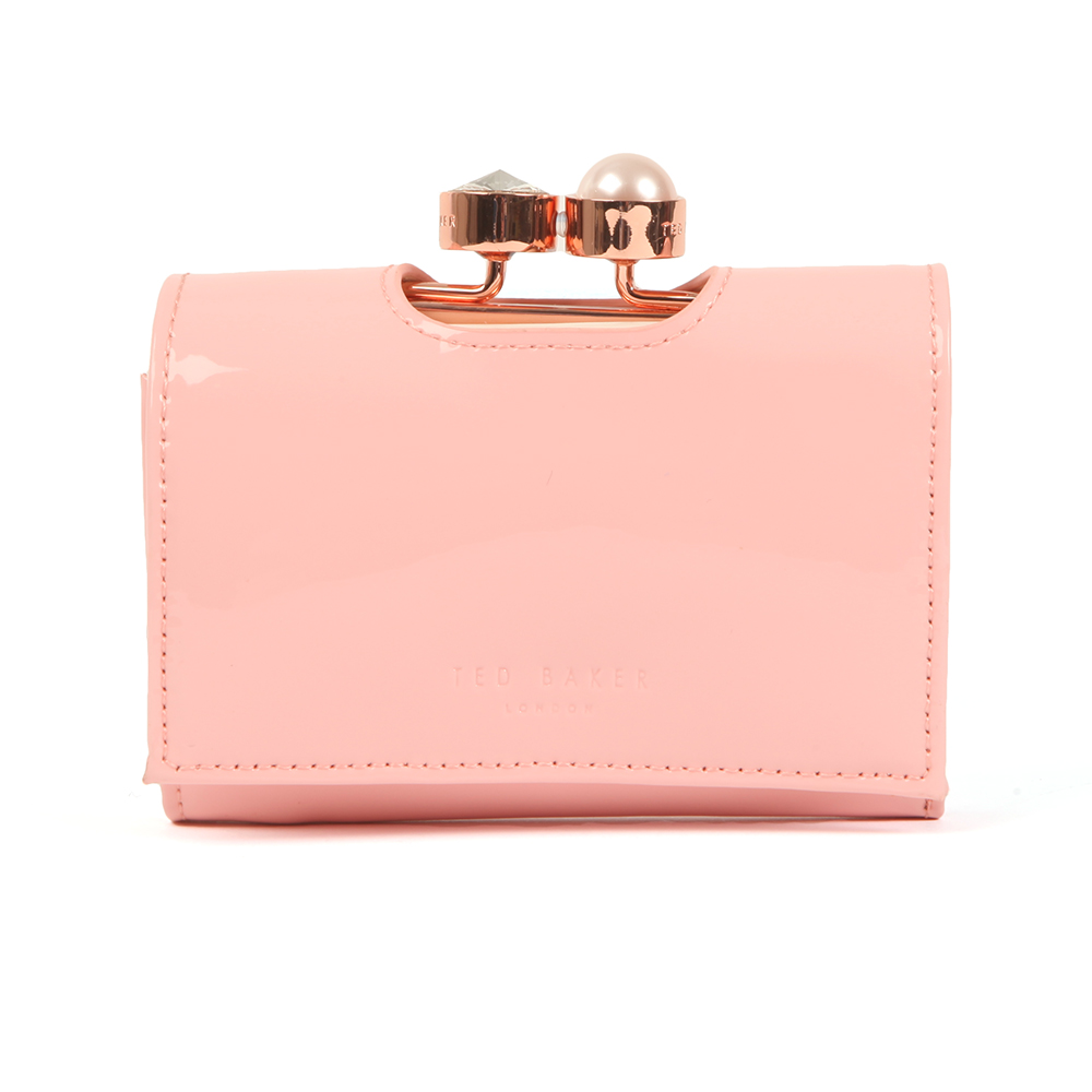 e4004cdae3eaf1 Ted Baker Alix Pearl Bobble Patent Small Purse