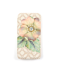 Ted Baker Womens Off-white Mavis Gem Gardens Iphone 6 Book Case