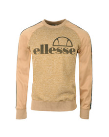 Ellesse Mens Beige Corps Crew Sweat