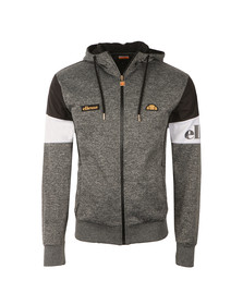 Ellesse Mens Grey Oro Hooded Tracktop