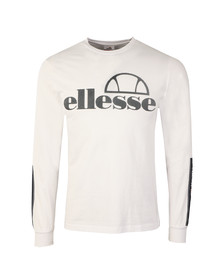 Ellesse Mens White Murgia Long Sleeve T Shirt