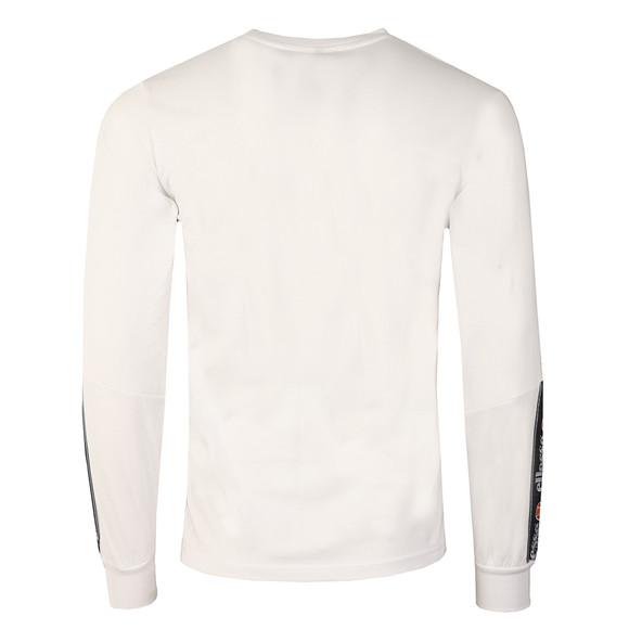 Ellesse Mens White Murgia Long Sleeve T Shirt main image