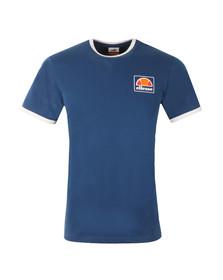 Ellesse Mens Blue Montefello Ringer T Shirt