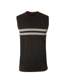 Ellesse Mens Black Energy Vest Top
