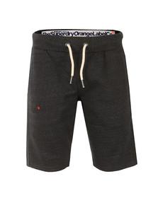 Superdry Mens Black Orange Label Slim Short