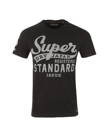 Superdry Mens Blue S/S Standard Issue Tee