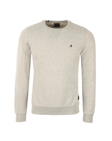 Replay Mens Grey M3290C Plain Sweatshirt