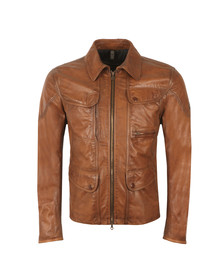 Matchless Mens Brown Kensington 2.0 Leather Jacket