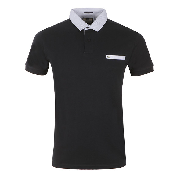 Weekend Offender Mens Blue Boilermaker Polo Shirt main image