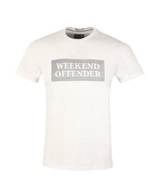 Weekend Offender Mens White Bishop Tee
