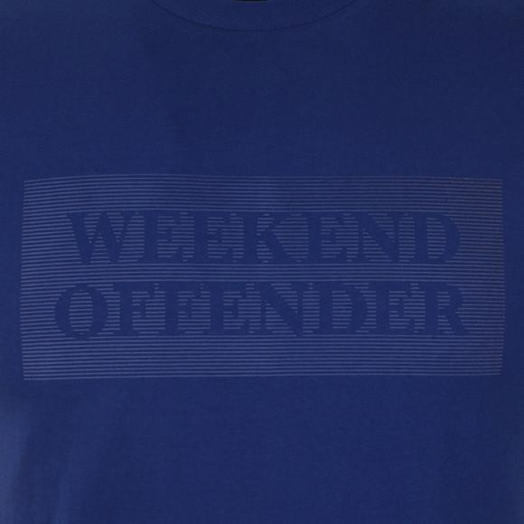 Weekend Offender Mens Blue Bishop Tee main image