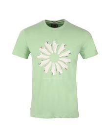 Weekend Offender Mens Green Trainer Wheel T Shirt