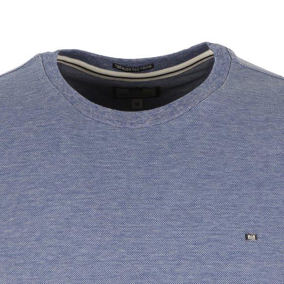 Weekend Offender Mens Blue Royce T Shirt main image
