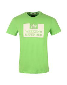 Weekend Offender Mens Green Weekend Offender Prison T-Shirt