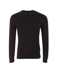 Aquascutum Mens Blue Corwin Cotton Crew Neck Jumper