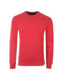 Aquascutum Mens Red Gilpin Sweatshirt