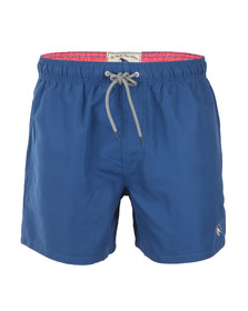Ted Baker Mens Blue Marky Solid Colour Swim Short