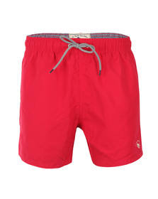 Ted Baker Mens Pink Marky Solid Colour Swim Short