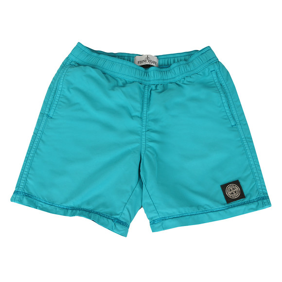 Stone Island Junior  Boys Blue Square Logo Swimshort main image