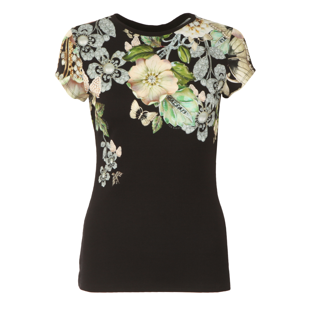 9ffe4c04f194 Ted Baker Veeni Gem Gardens Fitted Tee