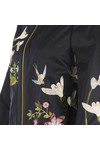 Ted Baker Womens Blue Bloomah Spring Meadow Bomber