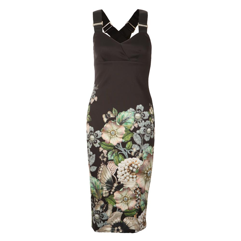 Jayer Gem Gardens Bodycon Dress main image