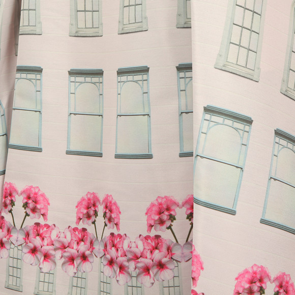Ted Baker Womens Pink Deonny Window Box Skater Dress main image