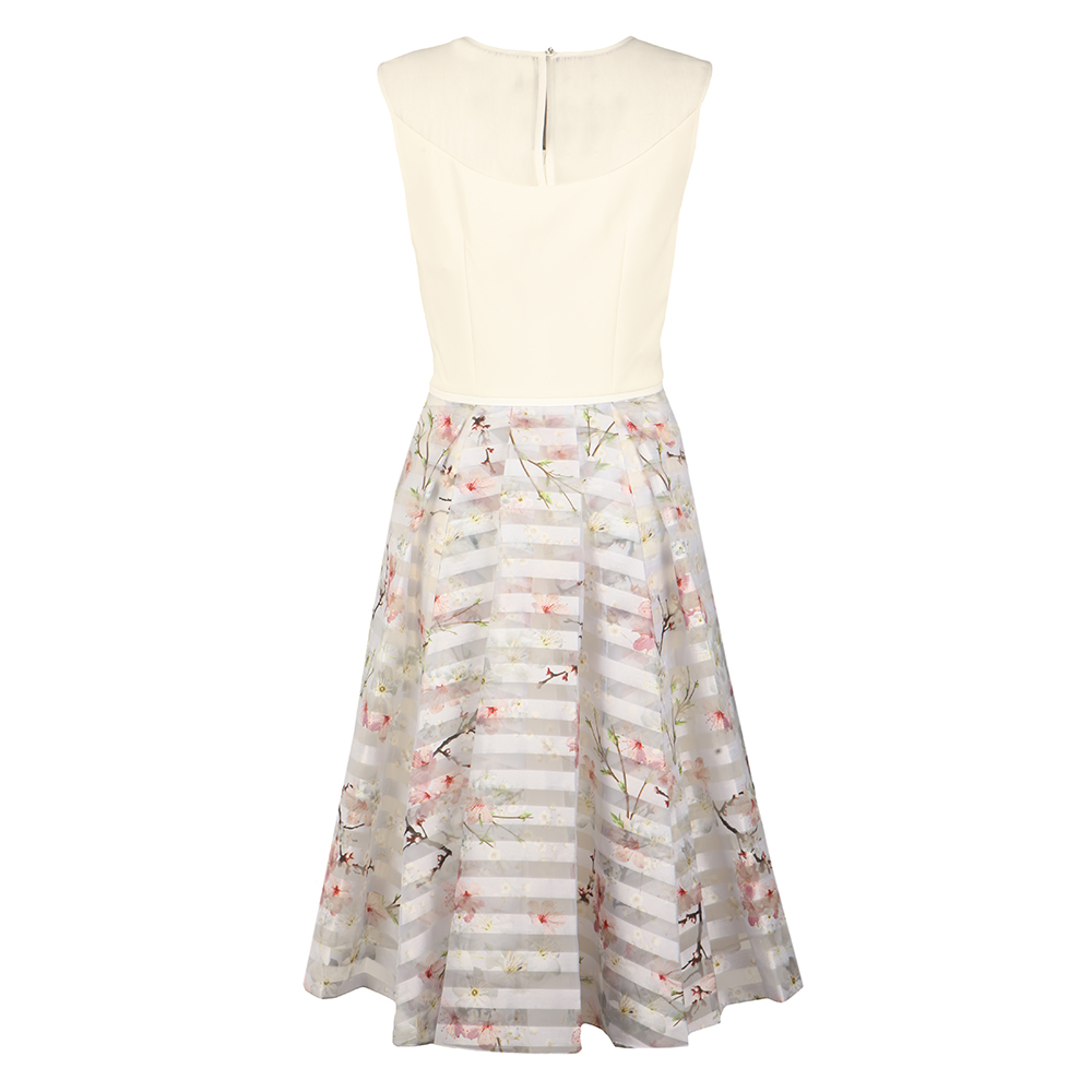 Monah Oriental Blossom Contrast Dress main image