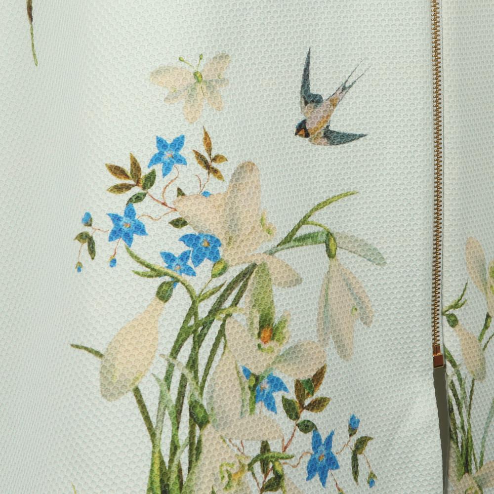 Racheel Spring Meadow Print Coat main image