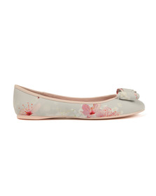 Ted Baker Womens Pink Immep Oriental Bloom Shoe