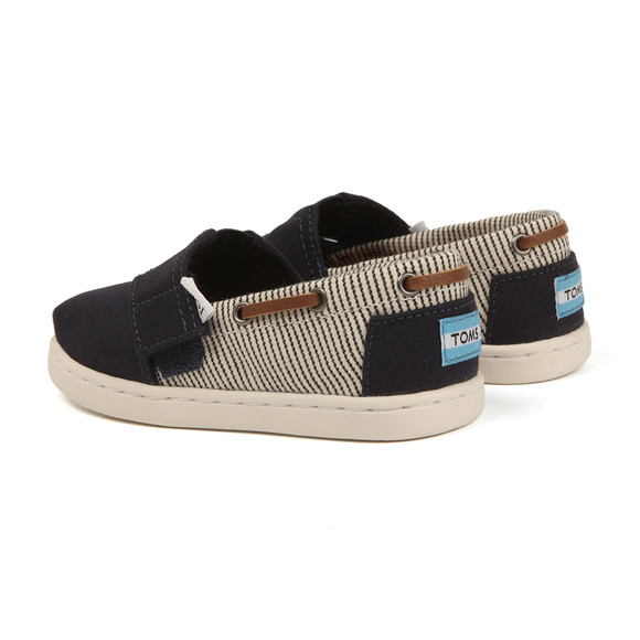 Toms Boys Blue Classic Chambray Bimini Canvas main image