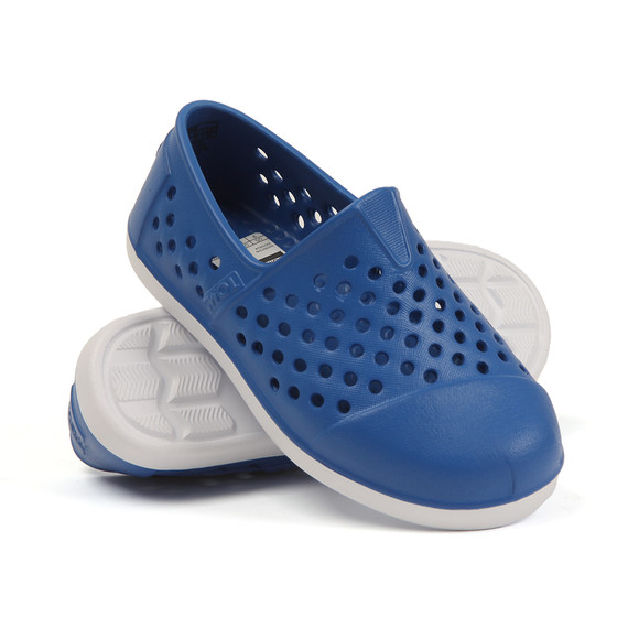 Toms Boys Blue Romper Shoe main image