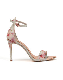 Ted Baker Womens Pink Charv Oriental Bloom Heel