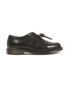 Dr Martens Womens Black Eliza Polished Smooth Shoe