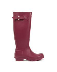 Hunter Womens Purple Original Tall Wellington