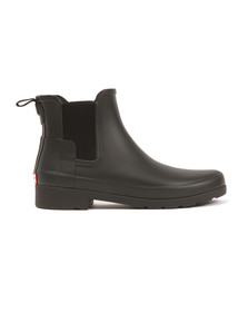Hunter Womens Black Original Refined Chelsea Boot