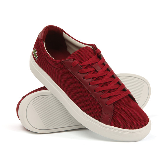 Lacoste Mens Red L.12.12 117 Cam Trainers main image