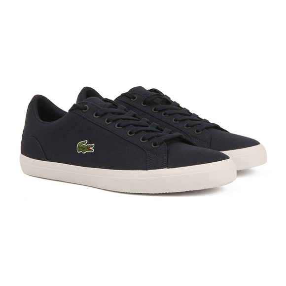 Lacoste Mens Blue Lerond BL 2 Cam Trainers main image