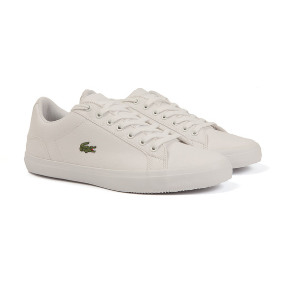 Lacoste Mens White Lerond BL 2 Cam Trainers