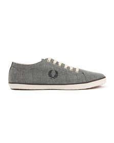 Fred Perry Mens Blue Kingston Twill Plimsole