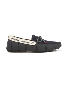 Swims Mens Blue Lace Loafers