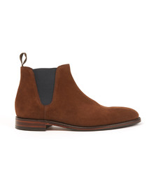 Loake Mens Brown Caine Suede Boots