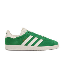 Adidas Originals Mens Green Gazelle Trainer