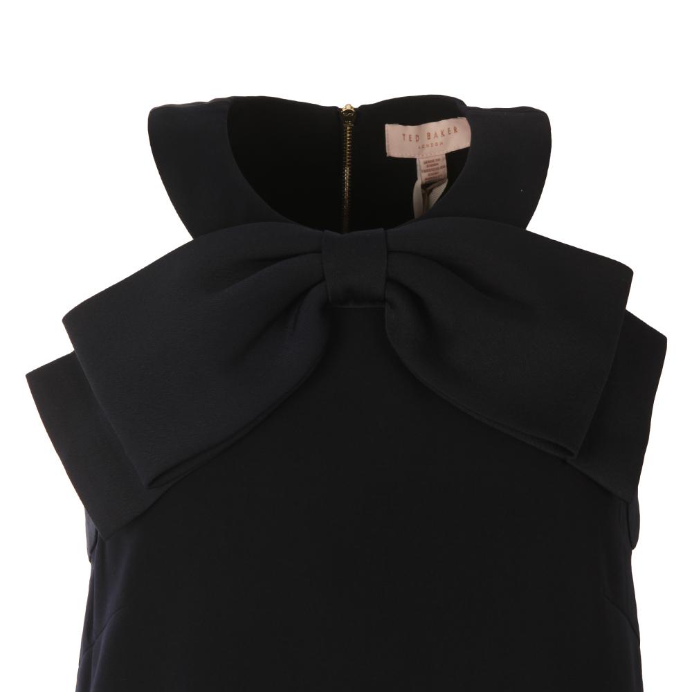 Trixia Halterneck A-Line Bow Dress main image